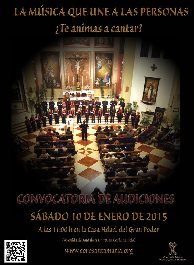 Coro santa mar a asociaci n musical convocatoria de for Santa maria jewelry company